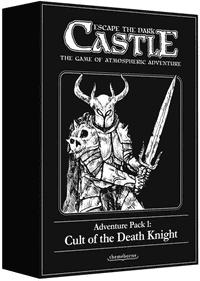 Escape The Dark Castle Brettspiel - Cult Of The Death Ritter Erweiterung