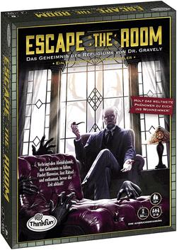 Escape the Room Das Geheimnis des Refugiums von Dr. Gravely