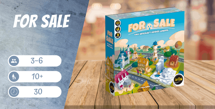 For Sale Spiel
