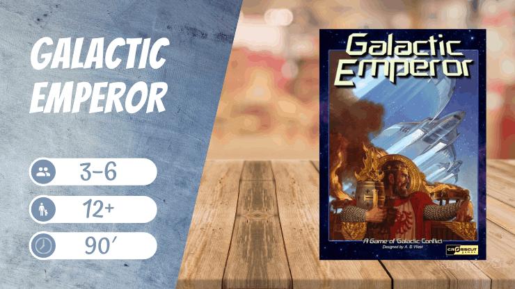 Galactic Emperor Brettspiel