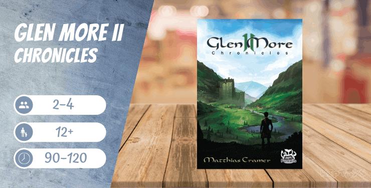 Glen More II Chronicles Brettspiel