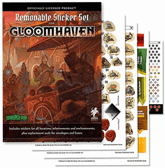 Gloomhaven - Removable Sticker Set - EN