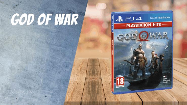 God Of War(Reboot) - PS4 Spiele wie Uncharted