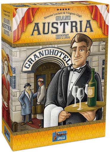 Grand Austria Hotel - Brettspiel wie Flügelschlag