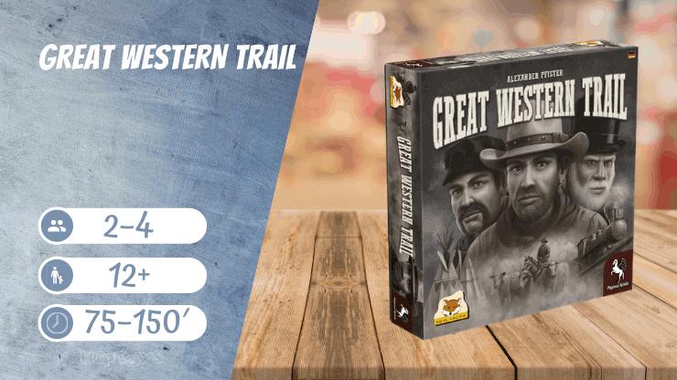 Great Western Trail Brettspiel