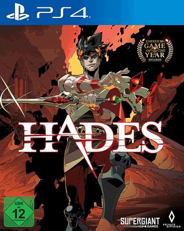 Hades - PS4 Spiele für Kinder ab 12