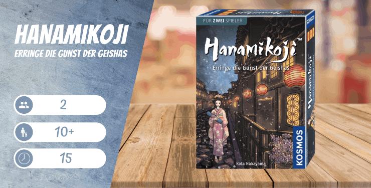 Hanamikoji - Erringe die Gunst der Geishas