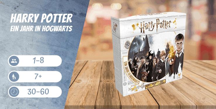 Harry Potter Ein Jahr in Hogwarts - Familien-Spiel