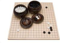 Holzspiele für Erwachsene - Go Brettspiel aus Holz