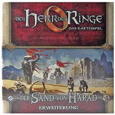 Herr der Ringe LCG-Der Sand von Harad Kartenspiel Erweiterung