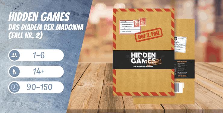 Hidden Games Das Diadem der Madonna (Fall Nr. 2) Spiel-Empfehlung