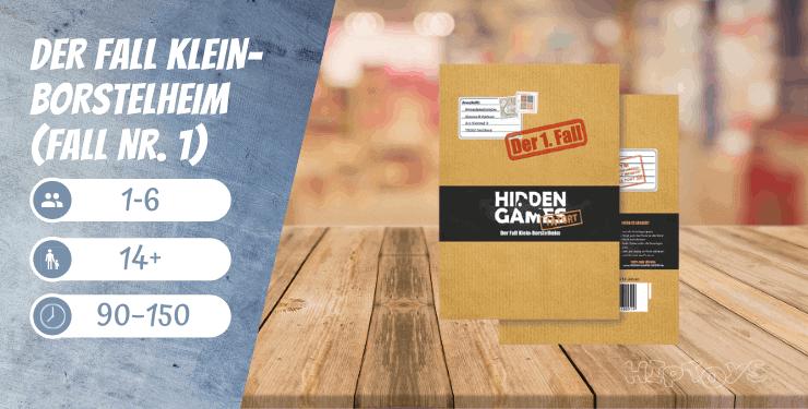 Hidden Games Tatort Der Fall Klein-Borstelheim (Fall Nr. 1)