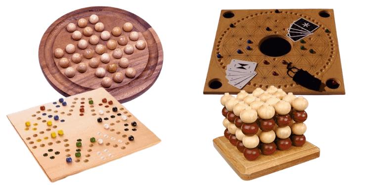 Holz Brettspiel mit Kugeln Die 9 besten Holzspiele mit Murmeln