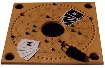 Holz Brettspiel mit Kugeln - TAC Premium