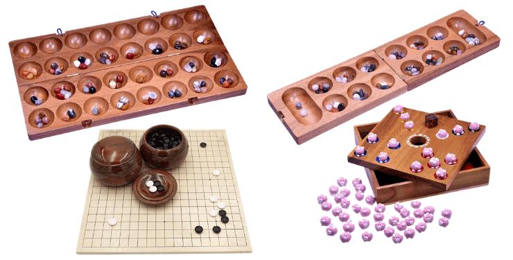 Holz Brettspiel mit Steinen Die 9 besten Holzspiele mit Steinen