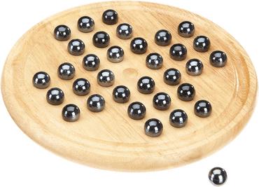 Holz Brettspiele mit Kugeln - Solitär