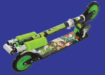 Ist ein faltbarer Roller für Kinder ab 10 Jahre besser