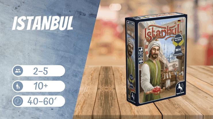 IstanbulBrettspiel (Kennerspiel des Jahres 2014)