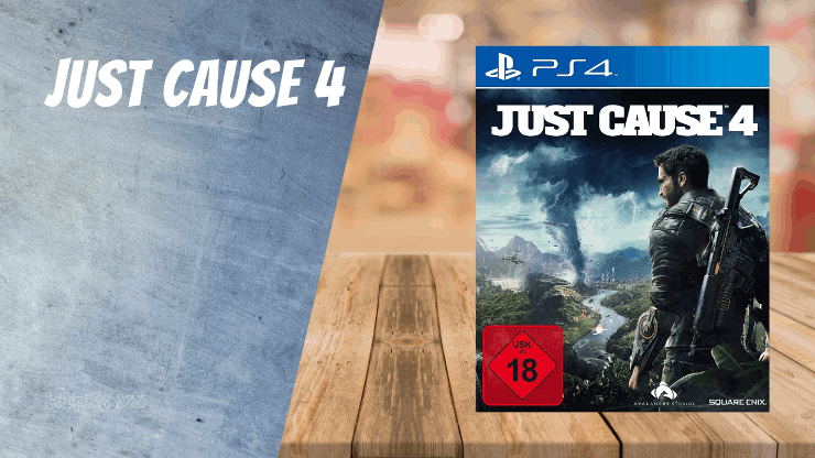 Just Cause 4 - PS4 Spiele ähnlich wie Uncharted