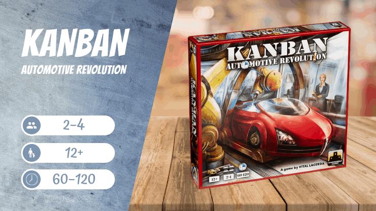 KANBAN Automotive Revolution Brettspiel