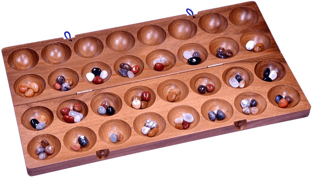 Kalaha - Brettspiele Klassiker aus Holz