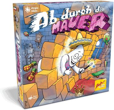 Kinderspiele Brettspiele - Ab durch die Mauer