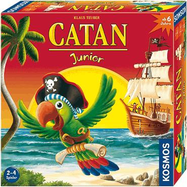 Beste Spiele für Kinder - Catan Junior