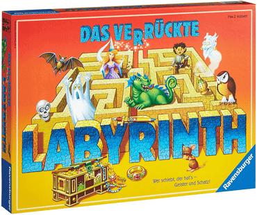 Besten Brettspiele - Das verrückte Labyrinth