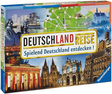 Brettspiele für Kinder - Deutschlandreise