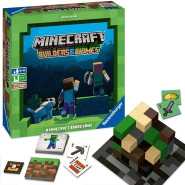 Brettspiel Kinder - Minecraft Builders & Biomes