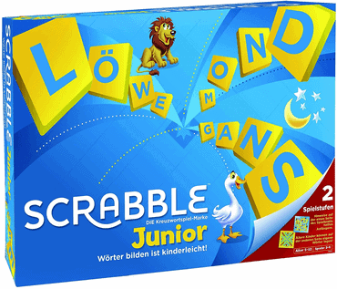 Kinder Brettspiele - Scrabble Junior