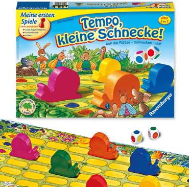 Brettspiel Kleinkind - Tempo, kleine Schnecke!