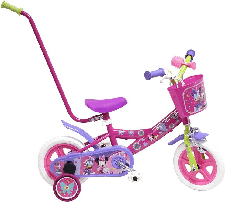 Kinderfahrrad zum Schieben - Disney Minnie Mouse Fahrrad