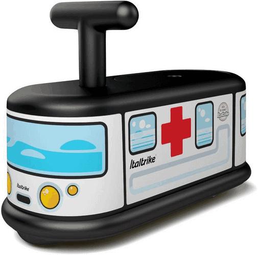Kinderfahrzeuge fü drinnen - Italtrike ABC La Cosa Ambulanz Krankenwagen