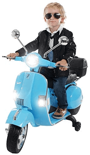 Kinderfahrzeuge zum selber fahren Actionbikes Motors Kinder Elektroroller Vespa PX150