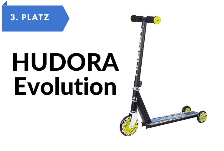 Kinderroller 3 Räder HUDORA Evolution