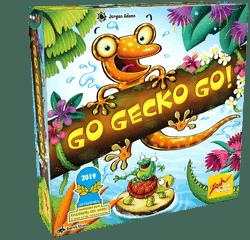 Kinderspiel des Jahres 2019 Nominierungen - Go Gecko Go