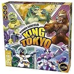 Beste Würfel-basierte Brettspiel für 2 - King of Tokyo - Hiptoys