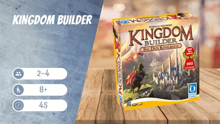 Kingdom Builder Brettspiel