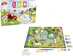 Klassische Spiel für 2 Erwachsene - Spiel des Lebens