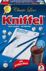 Kniffel - Gesellschaftsspiel Erwachsene