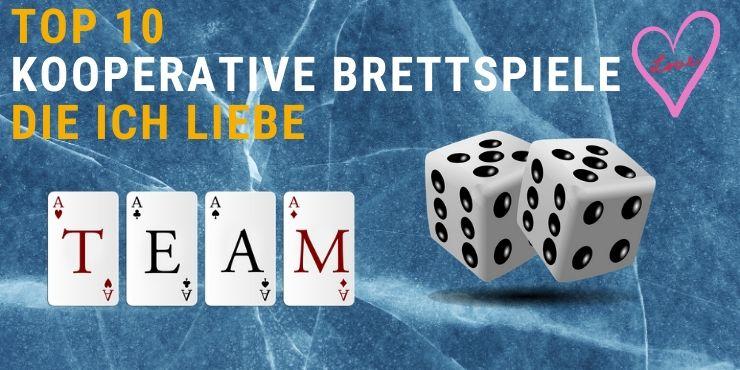 Kooperative Brettspiele für Erwachsene, die ich liebe