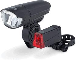 LED Fahrrad-Batterieleuchtenset - StVZO
