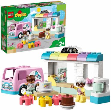 LEGO 10928 DUPLO Tortenbäckerei Spielset mit Café-Wagen