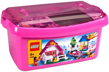 LEGO 5560 - Große Mädchen-Steinebox