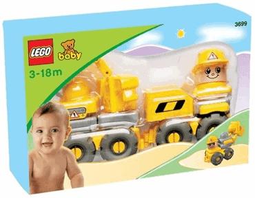 LEGO BABY 3699 - Lustiger Bauarbeiter