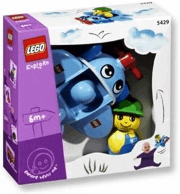 LEGO BABY 5429 - Propellerflugzeug