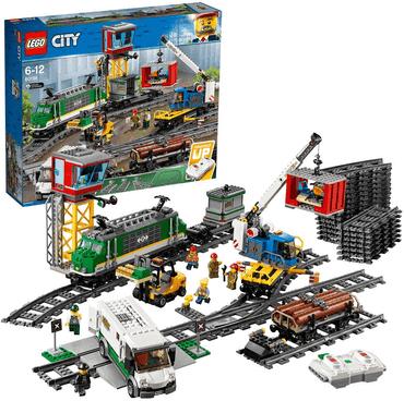 LEGO City Güterzug mit Schienensegmenten