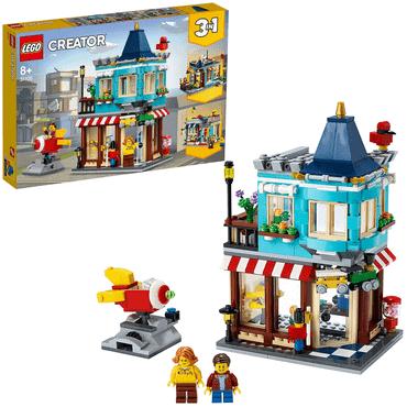 LEGO Creator 3-in-1 Spielzeugladen im Stadthaus, Konditorei, Blumenladen