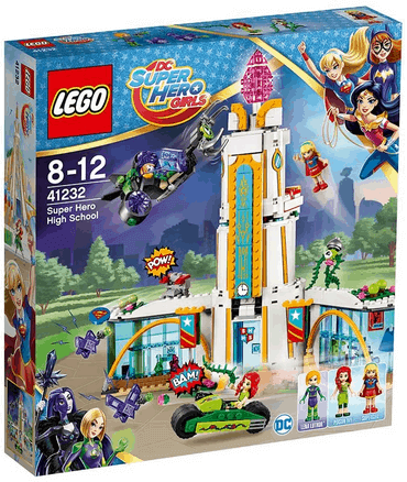 LEGO DC Super Hero Girls - Highschool der Super Heroes, Superhelden-Spielzeug